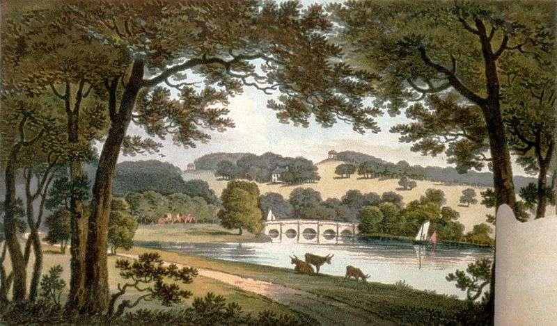 Repton landscape style